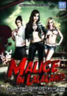 Malice in Lalaland - British DVD cover (xs thumbnail)