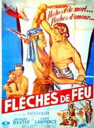 Captain John Smith and Pocahontas - French Movie Poster (xs thumbnail)