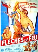 Captain John Smith and Pocahontas - French Movie Poster (xs thumbnail)