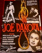 Joe Dakota - Finnish Movie Poster (xs thumbnail)