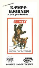 Grizzly - Danish Movie Cover (xs thumbnail)