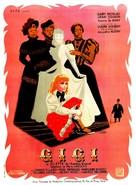Gigi - French Movie Poster (xs thumbnail)