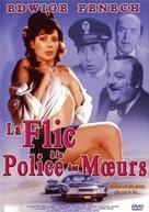 La poliziotta della squadra del buon costume - French DVD cover (xs thumbnail)