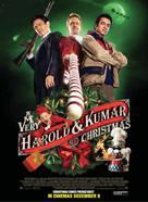 A Very Harold & Kumar Christmas - British Movie Poster (xs thumbnail)