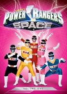 """""""Power Rangers in Space"""" - DVD cover (xs thumbnail)"""