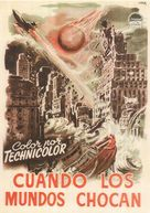 When Worlds Collide - Spanish Movie Poster (xs thumbnail)
