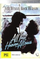 All That Heaven Allows - Australian Movie Cover (xs thumbnail)