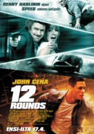 12 Rounds - Finnish Movie Poster (xs thumbnail)