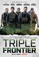 Triple Frontier - German Movie Poster (xs thumbnail)