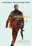 The Equalizer 2 - Slovenian Movie Poster (xs thumbnail)