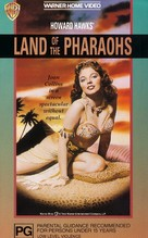 Land of the Pharaohs - Australian Movie Cover (xs thumbnail)