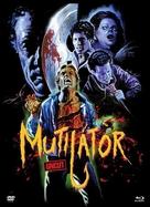 The Mutilator - Austrian Blu-Ray cover (xs thumbnail)