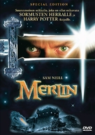 Merlin - Finnish DVD movie cover (xs thumbnail)