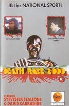 Death Race 2000 - British VHS movie cover (xs thumbnail)