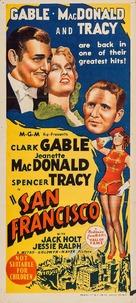 San Francisco - Australian Movie Poster (xs thumbnail)