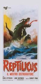 Reptilicus - Italian Movie Cover (xs thumbnail)
