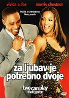 Two Can Play That Game - Croatian DVD movie cover (xs thumbnail)