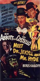 Abbott and Costello Meet Dr. Jekyll and Mr. Hyde - Movie Poster (xs thumbnail)