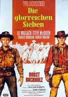 The Magnificent Seven - German Movie Poster (xs thumbnail)