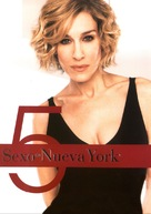 """""""Sex and the City"""" - Spanish DVD movie cover (xs thumbnail)"""