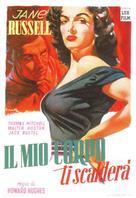 The Outlaw - Italian Movie Poster (xs thumbnail)
