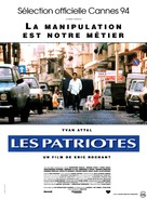 Patriotes, Les - French Movie Poster (xs thumbnail)