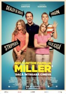 We're the Millers - Romanian Movie Poster (xs thumbnail)