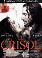 The Crucible - Spanish Movie Poster (xs thumbnail)
