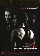 Million Dollar Baby - Australian DVD movie cover (xs thumbnail)