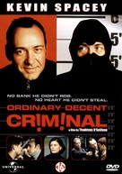 Ordinary Decent Criminal - Dutch DVD movie cover (xs thumbnail)