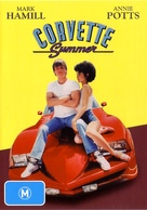 Corvette Summer - Australian DVD cover (xs thumbnail)