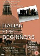 Italiensk for begyndere - British DVD cover (xs thumbnail)