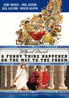 A Funny Thing Happened on the Way to the Forum - DVD movie cover (xs thumbnail)