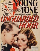 The Unguarded Hour - Movie Poster (xs thumbnail)