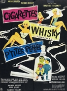 Cigarettes, whisky et petites pépées - French Movie Poster (xs thumbnail)