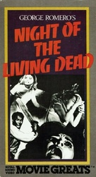 Night of the Living Dead - VHS movie cover (xs thumbnail)