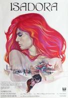 Isadora - Swedish Movie Poster (xs thumbnail)
