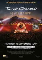 David Gilmour Live at Pompeii - French Movie Poster (xs thumbnail)