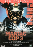Maniac Cop 3: Badge of Silence - German DVD cover (xs thumbnail)