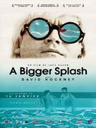 A Bigger Splash - French Movie Poster (xs thumbnail)