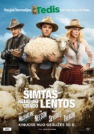 A Million Ways to Die in the West - Lithuanian Movie Poster (xs thumbnail)