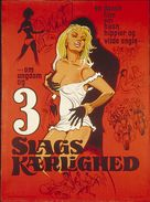 3 slags kærlighed - Danish Movie Poster (xs thumbnail)