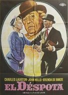 Hobson's Choice - Spanish Movie Poster (xs thumbnail)