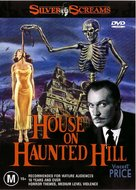 House on Haunted Hill - Australian DVD cover (xs thumbnail)