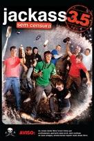 Jackass 3.5 - Brazilian DVD cover (xs thumbnail)