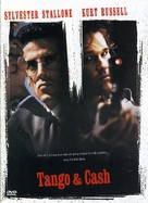 Tango And Cash - Finnish DVD movie cover (xs thumbnail)