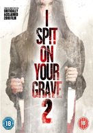 I Spit on Your Grave 2 - British DVD movie cover (xs thumbnail)