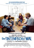 The Squid and the Whale - German Movie Poster (xs thumbnail)