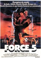 Force: Five - French Movie Poster (xs thumbnail)