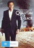 Quantum of Solace - Australian DVD cover (xs thumbnail)